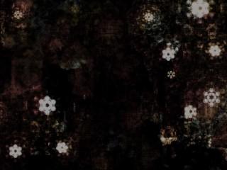 雪華模様のグランジテイストの壁紙(4パターン)