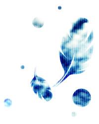 空模様の羽根(4パターン)