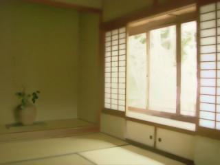 和室 差分:日中/夕方/夜
