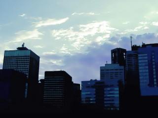 高層ビル(近景) 差分:日中/夕方/夜