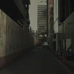 路地裏 差分:日中/雨/夜