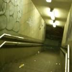 地下への階段 差分:黄色/赤/青