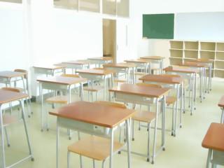 教室(教壇視点から後方) 差分:日中/夕方/夜