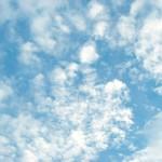 ひつじ雲の空 差分:日中/夕方/夜