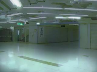 地下街 差分:明るめ/赤み/暗め