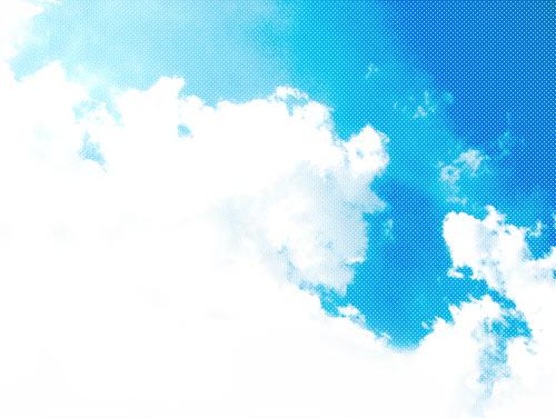 空の写真素材(2パターン)