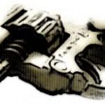 銃の写真素材