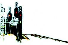 信号機の写真素材