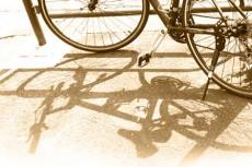 自転車の写真素材