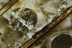 錆び付いたロッカーの写真素材