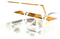 ベンチの写真素材