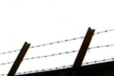 有刺鉄線の写真素材