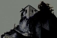 西洋風建築の写真素材