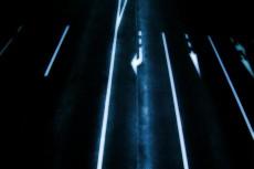 矢印の描かれた道路