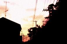 家々の写真素材