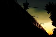 電車の写真素材