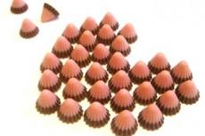 ハート型のチョコレート菓子