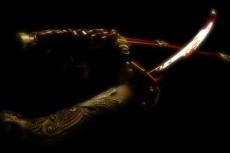 日本刀の写真素材