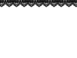 垂れ下がるレース(透過GIF)(4パターン)