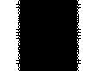 十字のワンポイントのレース(透過GIF)(8パターン)