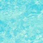 鮮やかな水色の水