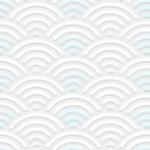 エンボス調の青海波(せいがいは)(12パターン)
