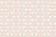 シンプルな組亀甲(くみきっこう)(12パターン)