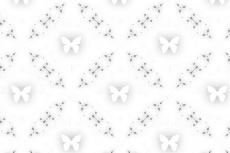 蝶と格子の幾何学模様(4パターン)