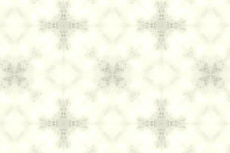 ふんわりした十字の幾何学模様(4パターン)