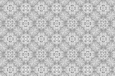 ザラザラした質感の幾何学模様(4パターン)