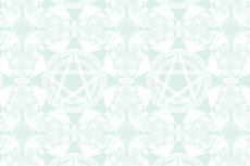 ファンタジックなペンタグラムの壁紙(4パターン)