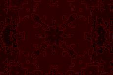 金属板のような質感の幾何学模様(4パターン)