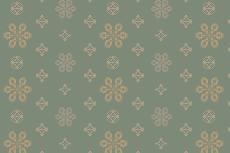 落ち着いた色合いの花柄の壁紙(4パターン)
