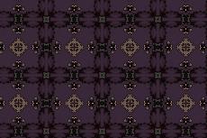 タイル状の幾何学模様(4パターン)