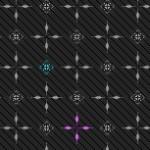 十字とストライプの壁紙(6パターン)