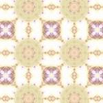 民族模様風の幾何学模様(4パターン)