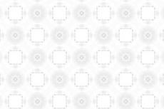 円と四角の機械的な幾何学模様(4パターン)