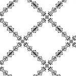 レースのようなダイヤチェック(透過GIF)(4パターン)