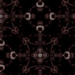 錆びた雰囲気の幾何学模様(4パターン)