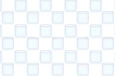ガラスのような質感のタイル模様(3パターン)