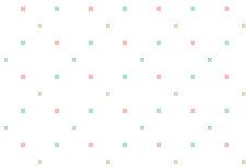 ミニマムでシンプルなスクエア柄(透過GIF)(8パターン)