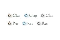 文字がフェードアウトするweb拍手ボタン(GIFアニメ)(6パターン)