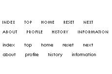 極小アルファベットの横書きテキストメニュー(透過GIF)