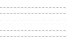 細かい点線の罫線(6パターン)