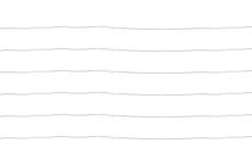 手書き風のいびつな罫線(8パターン)