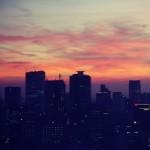 【高解像度】東京タワーとビル群の夕景(3パターン)