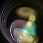 【高解像度】レンズの中の光