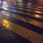【高解像度】雨上がりの交差点