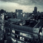 【高解像度】新宿三丁目方面の景色