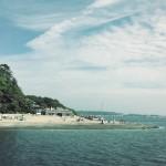 【高解像度】猿島のビーチ